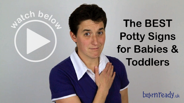See potty signs demonstrated in the video below.