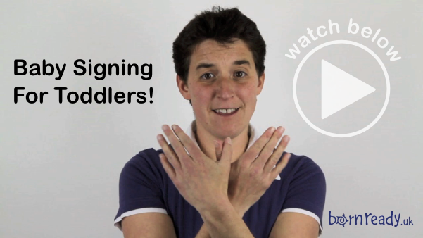 It's never too late to start signing with your baby or toddler! Watch the video below for inspiration.