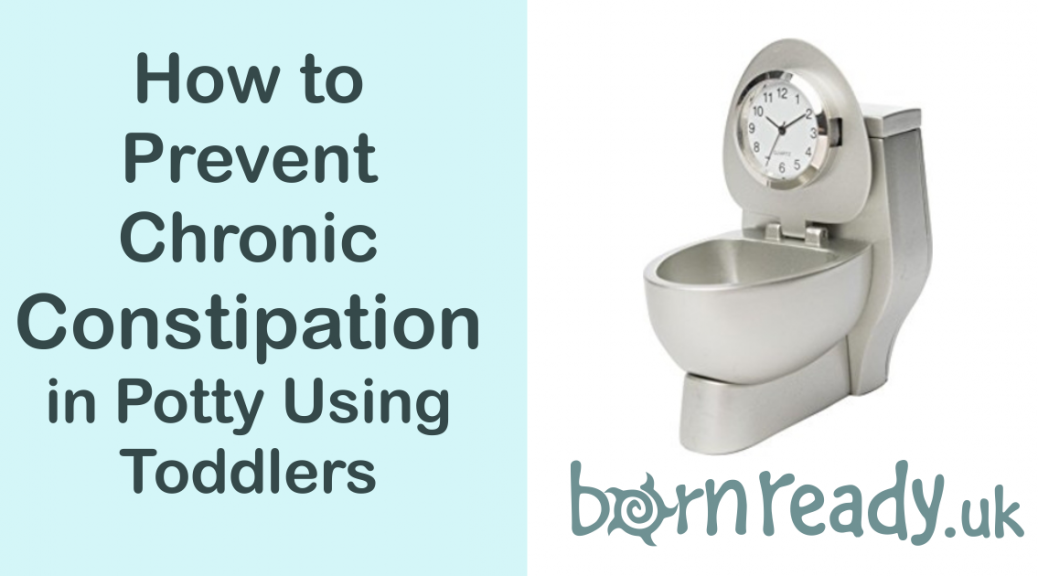 How to Prevent Chronic Constipation in Potty Training Toddlers