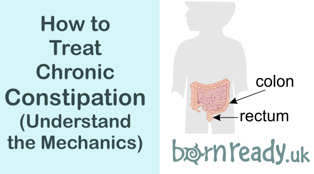 The mechanics of treating chronic constipation.