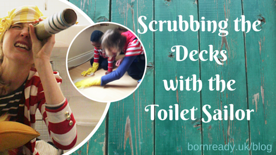 Scrubbing The Decks With The Toilet Sailor - Consulting with Creative Homes.